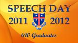 Speech Day 2011-2012 - 6W