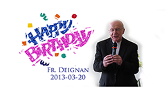 Fr. Deignan's Birthday