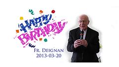 Fr. Deignan's Birthday