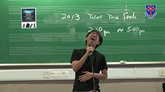 2013 Talent Time Final - 李冠麟 - 情人