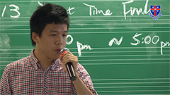2013 Talent Time Final - Kwok Chun Wai - 苦瓜
