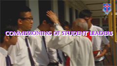 Commissioning of student leaders