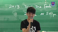 2013 Talent Time Final - Wong Pak Lok - 伯樂