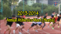Annual Athletics Meet Heats 2013-2014