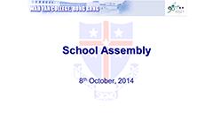 Assembly - October 2014