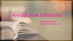 2014-2015 Annual Book Exhibition