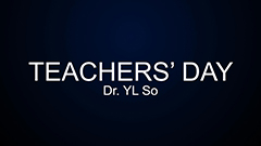 Teachers' Day 2014-2015 - Dr. So