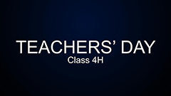 Teachers' Day 2014-2015 - 4H