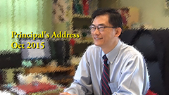 Principal's Address - October 2015
