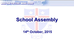 Assembly - October 2015