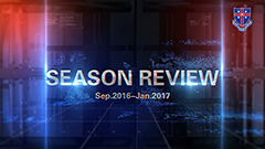 Season Review Sep 2016 to Jan 2017