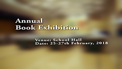 2017-2018 Annual Book Exhibition