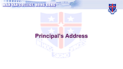 Principal's Address - September 2018