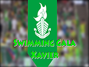 2018-2019 Annual Swimming Gala (Xavier)