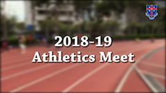 2018-2019 Annual Athletics Meet Promotion