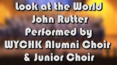 Speech day 2018 - Choir Performance (Look at the World - John Rutter)
