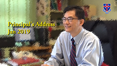 Principal's Address - Jan 2019