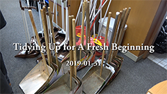 Tidying Up for A Fresh Beginning
