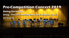 Pre Competition Concert 2019 - String Orchestra 1