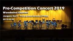 Pre Competition Concert 2019 - Woodwind Quintet