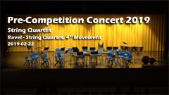 Pre Competition Concert 2019 - String Quartet