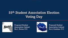 55th Student Association Election Voting Day