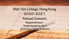 Annual Concert 2020-2021 - String Orchestra